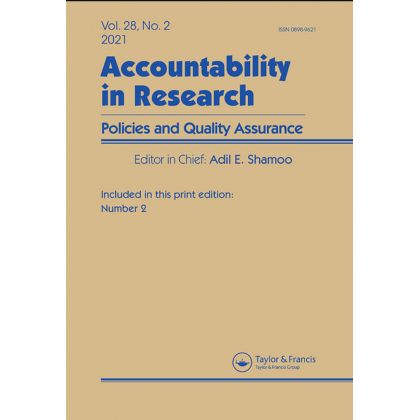 Accountability in Research