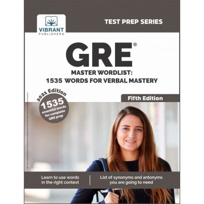 GRE Master Wordlist: 1535 Words For Verbal Mastery (Tes..