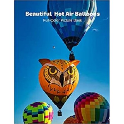 Beautiful Hot Air Balloons Full-Color Picture Book Hot Air Balloons Picture Book - Air Travel -Air Sports