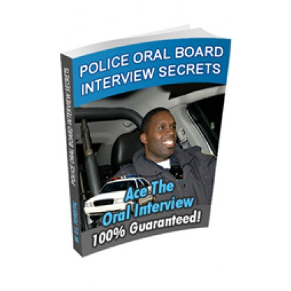 Become A Cop Interview Study Guide