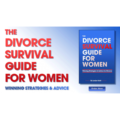 """""""the Divorce Survival Guide For Women"""""""