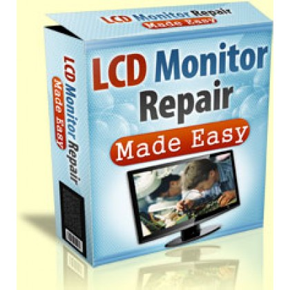 Lcd Monitor Repair Made Easy ~ New Hungry Niche
