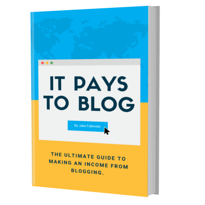 It Pays To Blog By Jake Falkinder
